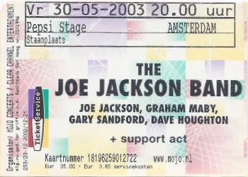 20030530 Joe Jackson