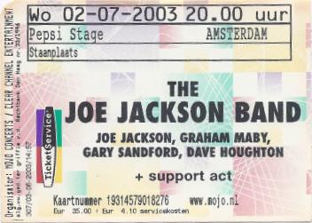 20030702 Joe Jackson
