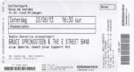 Bruce Springsteen 22-06-2013 concertkaartje (apoplife.nl)