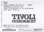 Foals 10-11-2013 concertkaartje (apoplife.nl)