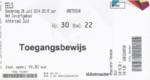 Eels 26-06-2014 concertkaartje (apoplife.nl)