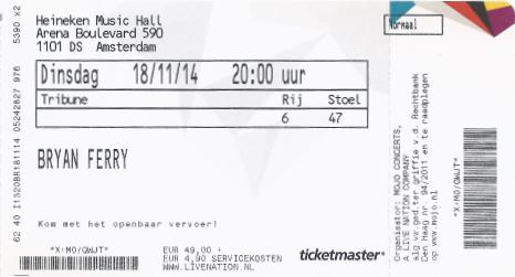 20141118 Bryan Ferry