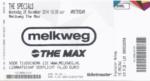 The Specials 26-11-2014 concertkaartje (apoplife.nl)