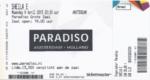 Sheila E 06-04-2015 concertkaartje (apoplife.nl)