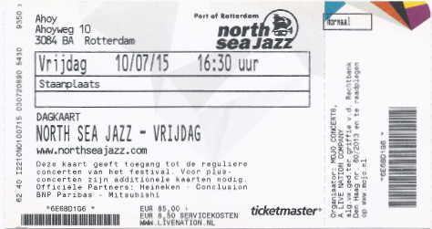 20150710 North Sea Jazz