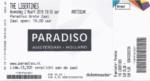 The Libertines 02-03-2016 concertkaartje (apoplife.nl)