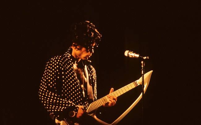 Prince at the Lovesexy tour 1988/1989