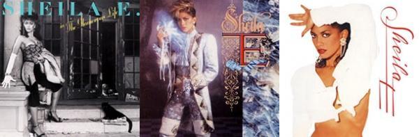 Sheila E: The Glamourous Life, Romance 1600 & Sheila E (albums, 1984, 1985 & 1987)