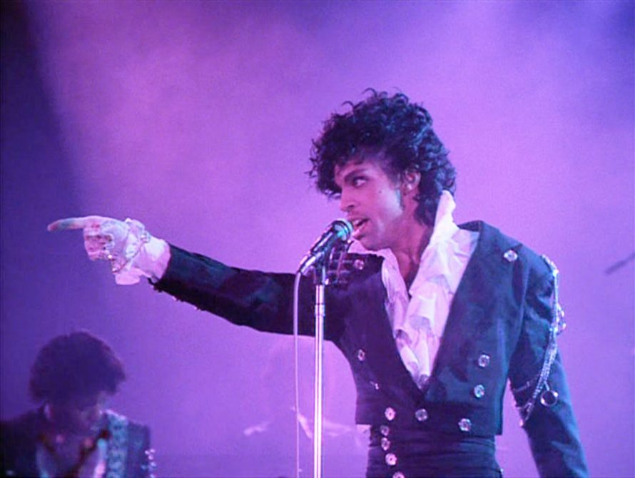 Uitvoering The Beautiful Ones tijdens Purple Rain (de film), 1984