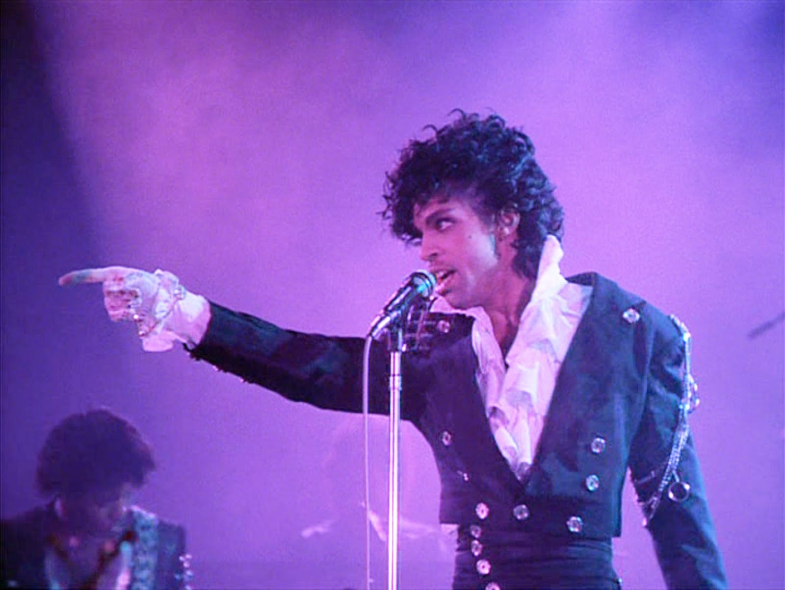 Performing The Beautiful Ones in Purple Rain (the movie), 1984
