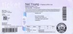 Neil Young 24-06-2016 concertkaartje (apoplife.nl)