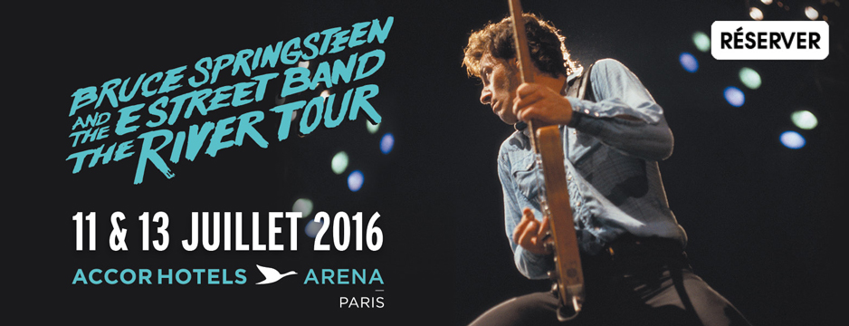 Bruce Springsteen Advertentie 07/13/2016