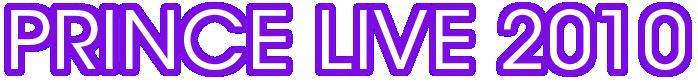 Live 2010 Tour (princevault.com)