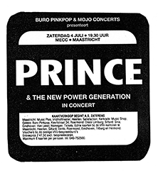 Prince - Diamonds And Pearls Tour Advertentie MECC (princevault.com)