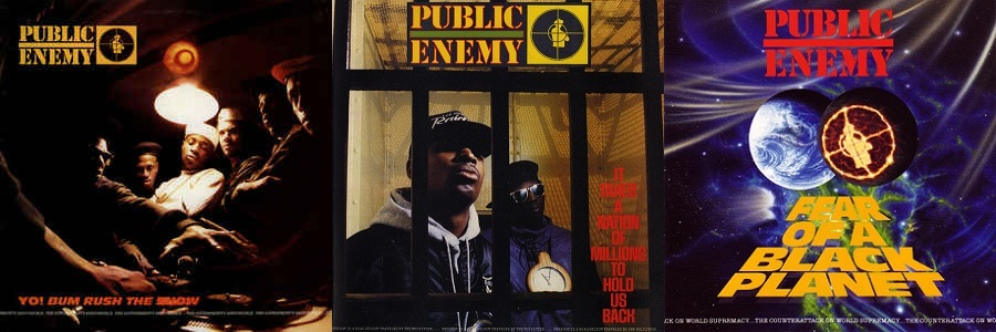 Public Enemy - First three albums (discogs.com)
