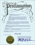 City Of St. Paul Proclamation: Prince Day on 13th of October 2016 (stpaul.gov)