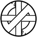 Crass logo (punk-t-shirts.co.uk)