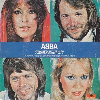 ABBA - Summer Night City (45cat.com)