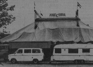 The Cure tent (thecureinholland.nl)