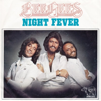 Bee Gees - Night Fever (single) (45cat.com)