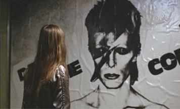 Christiane F Bowie concert advert (listal.com)