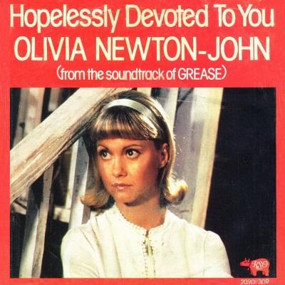 Olivia Newton John - Hopelessly Devoted To You (single) (45cat.com)
