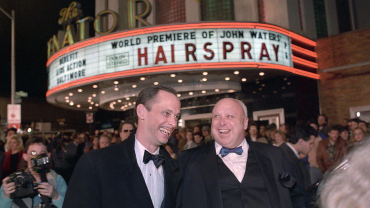 John Waters & Harris Glenn Milstead (Divine) at the Hairspray premier (baltimoresun.com)