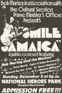 Bob Marley Smile Jamaica (bobmarley.com)