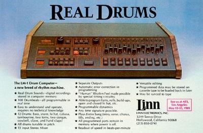 Linn LM-1 drum computer (pinterest.com)