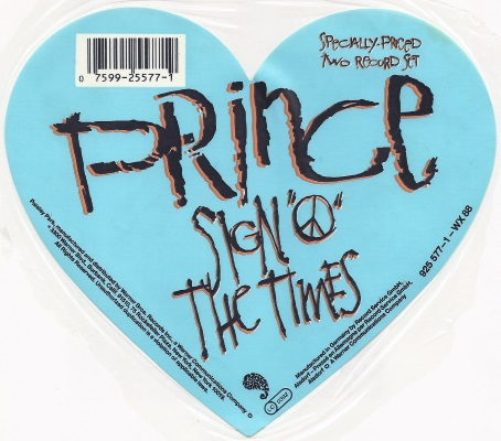 Prince - Sign O' The Times LP sticker (apoplife.nl)