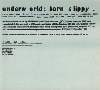 Underworld - Born Slippy (discogs.com)