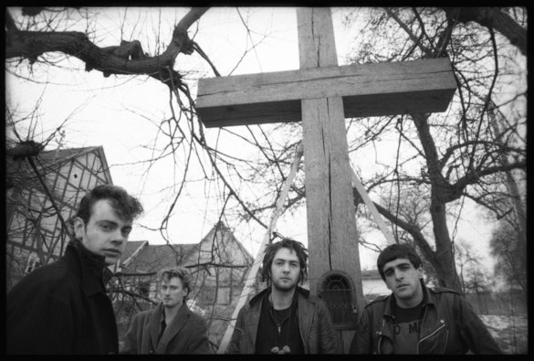 Killing Joke in Cologne near Conny Plank's studio (davidcorio.com)