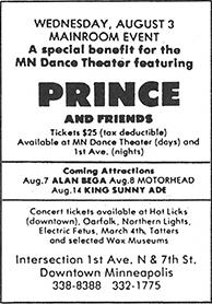 Prince - 03-08-1983 advertentie (princevault.com)