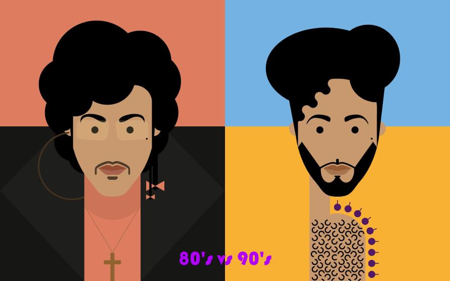 Prince - 80s vs 90s (martinhoment.com/apoplife.nl)