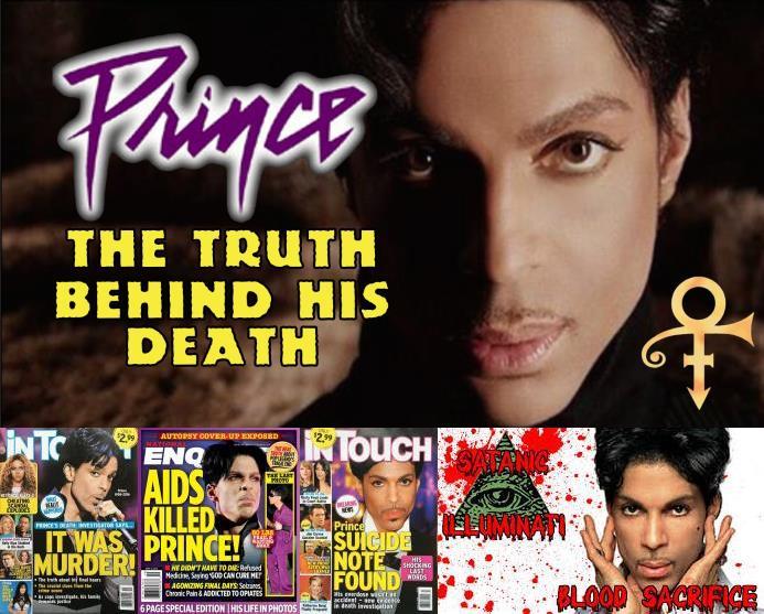 Prince - Overlijden samenzweringen, complotten en doofpotten (gossipcop.com/youtube.com/apoplife.nl)