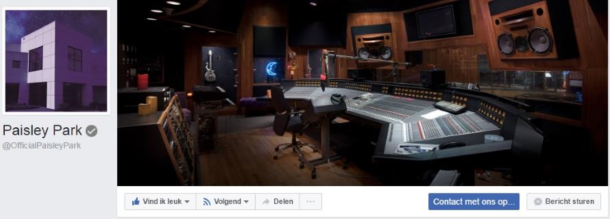 Prince - Official Paisley Park (facebook.com)