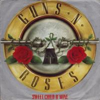 Guns N' Roses - Sweet Child O' Mine (45cat.com)