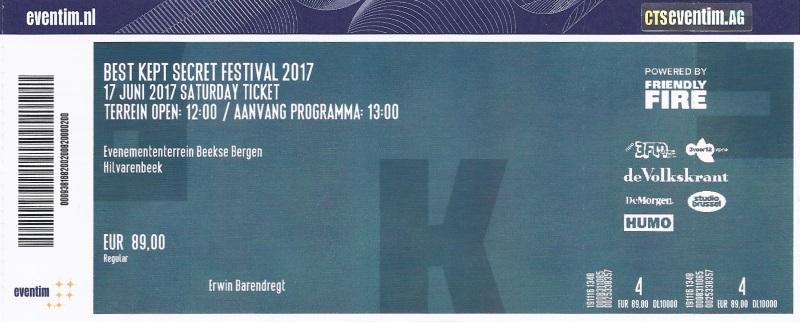 Best Kept Secret Festival 06/17/2017 (apoplife.nl)