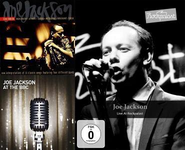 Joe Jackson - Live albums and dvd (joejackson.com apoplife.nl)