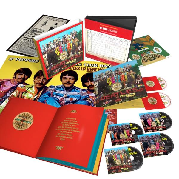 The Beatles - Sgt Pepper's Lonely Hearts Club Band - Re-release (beatles.com)