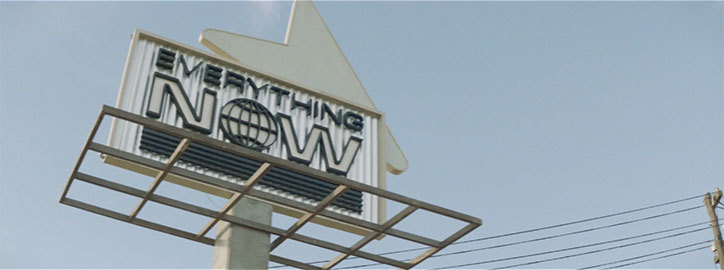 Arcade Fire - Everything Now - Videobeeld (itsnicethat.com)