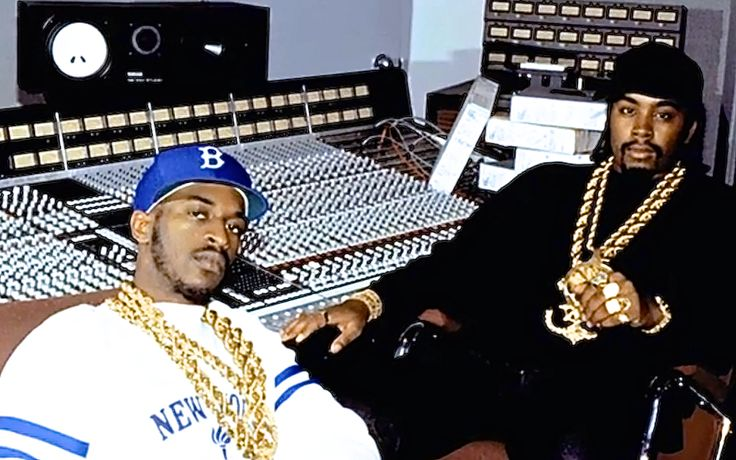 Eric B. & Rakim in the studio (thesource.com)