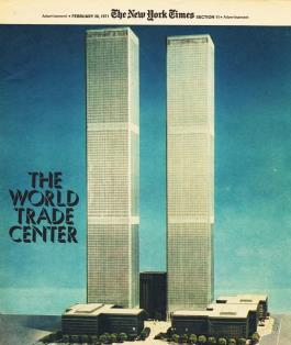 New York - World Trade Center model 1971 (envisioningtheamericandream.com)