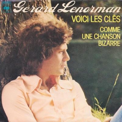 Gérard Lenorman - Voici Les Clés (45cat.com)