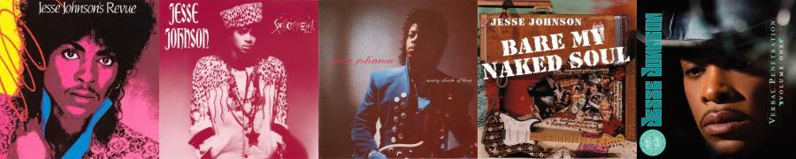 Jesse Johnson - Solo albums (allmusic.com/apoplife.nl)