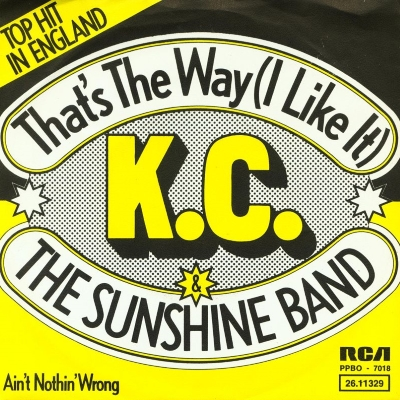 K.C. & The Sunshine Band - That's The Way (I Like It) (45cat.com)