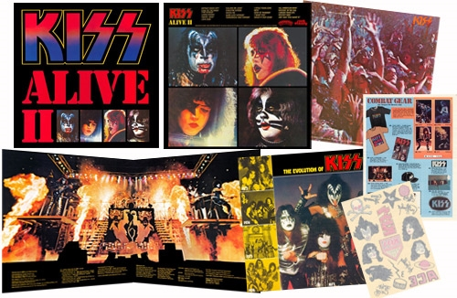 Kiss - Alive II - Extra's (everythingkiss.com)