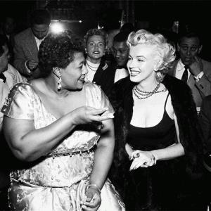 Marilyn Monroe & Ella Fitzgerald (knkx.org)