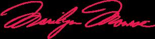 Marilyn Monroe signature (marilynmonroe.com)