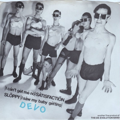 Devo (I Can't Get Me No) Satisfaction (Booji Boy) (45cat.com)